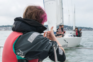 OUT Sailing take a group of young people from Breakout Youth sailing to Cowes for the weekend.